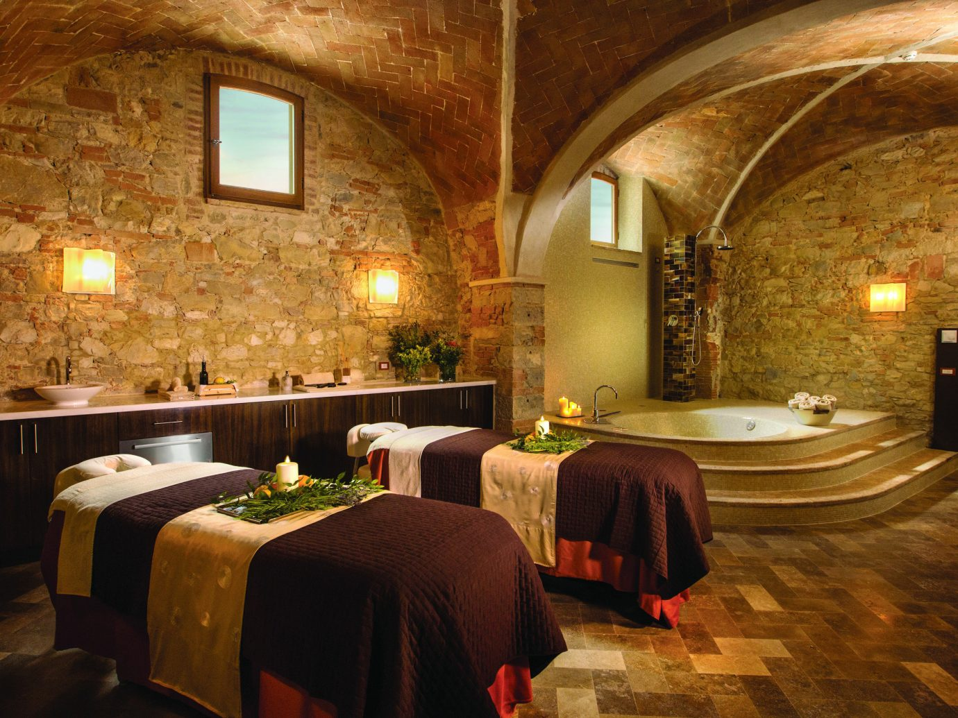 Health + Wellness Hotels Spa Retreats indoor floor property room estate interior design hacienda mansion Suite stone