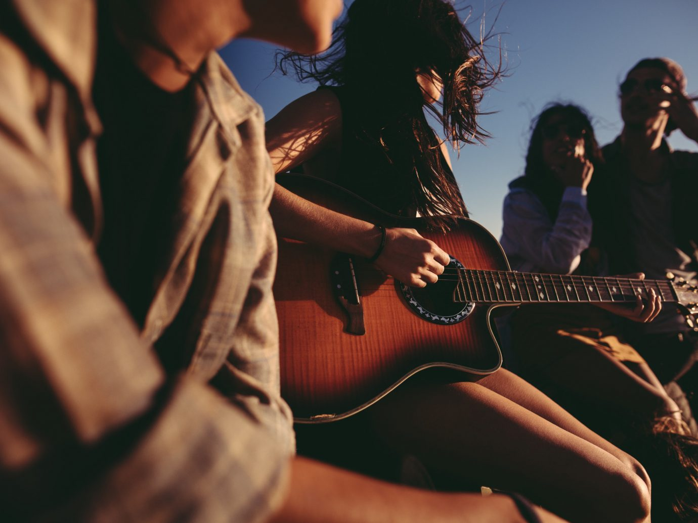 Budget person guitarist performance woman musician rock concert Music bassist string instrument Entertainment guitar concert plucked string instruments singing singer songwriter musical ensemble