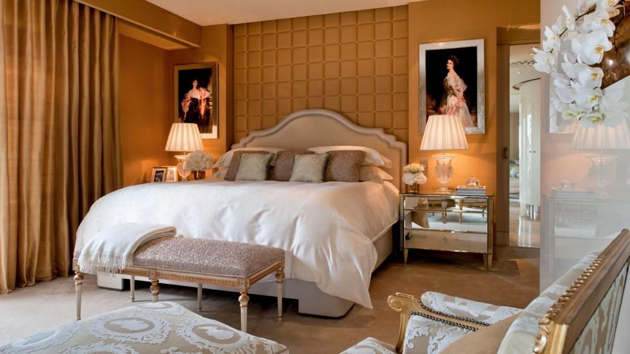 Hotels Luxury Travel indoor wall room floor bed bed frame interior design Bedroom Suite furniture ceiling home bed sheet window treatment interior designer mattress window
