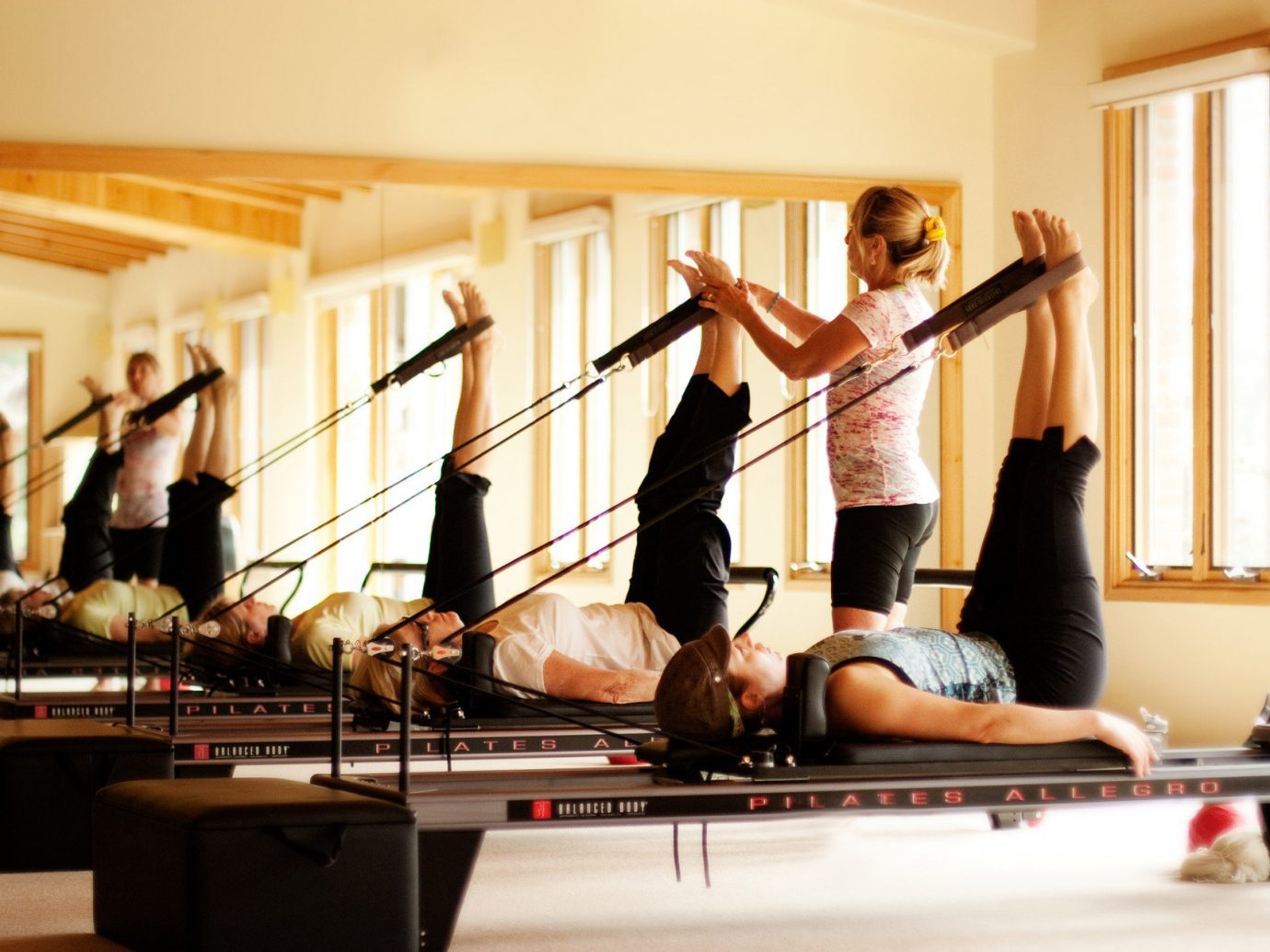Health + Wellness Hotels Yoga Retreats wall indoor person room sports physical fitness performance art pilates