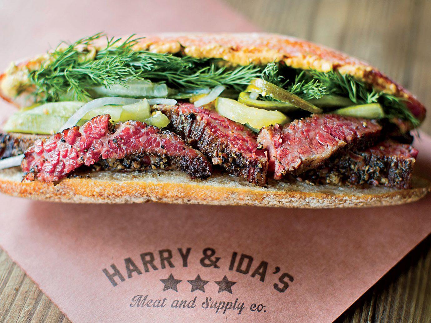 Food + Drink food dish produce meal sandwich snack food breakfast cuisine meat