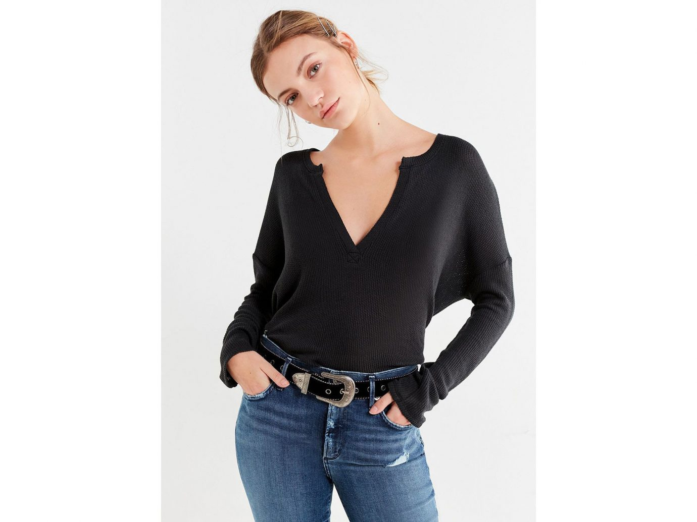 City NYC Style + Design Travel Shop person woman clothing sleeve shoulder neck posing fashion model joint t shirt model waist product lady beautiful