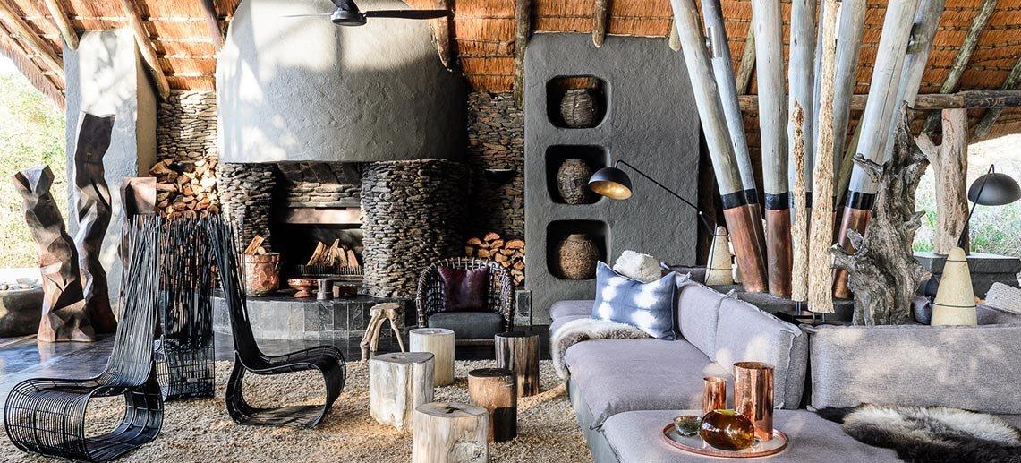 Hotels interior design grill