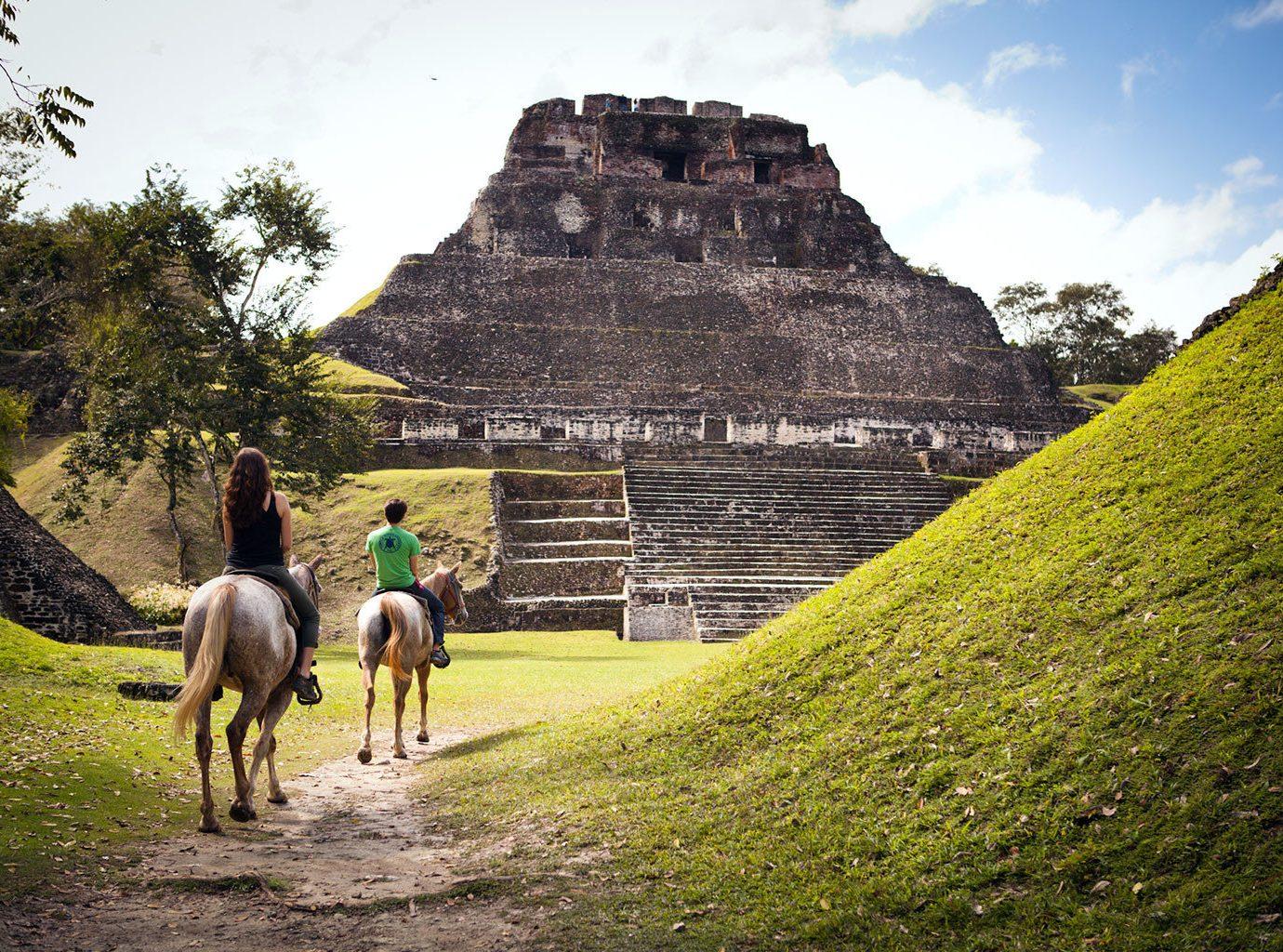 Horseback Riding In Xunantunich, Cayo, Belize