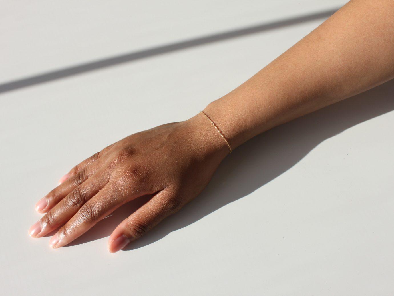 Style + Design person finger hand arm close up leg sense human body