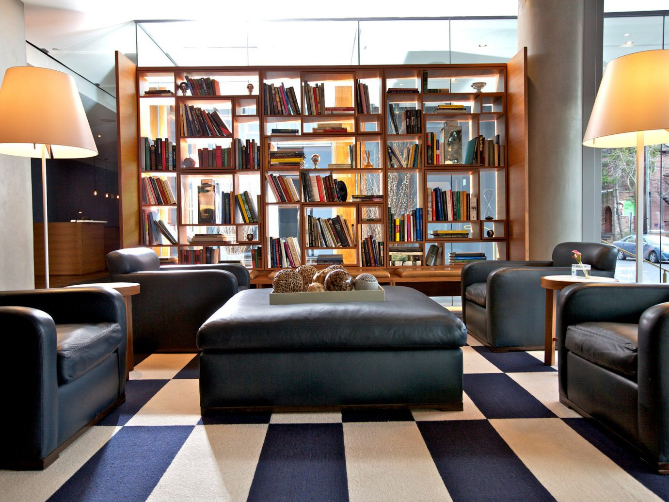 books Boutique charming cozy homey Hotels interior library living area living room Lounge quaint Style + Design indoor floor room Living property furniture interior design home Lobby Design real estate window covering area