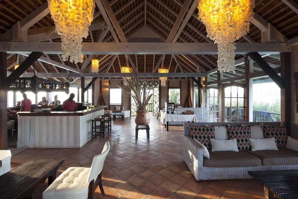 All-Inclusive Resorts caribbean Hotels indoor ceiling Resort interior design restaurant Lobby furniture