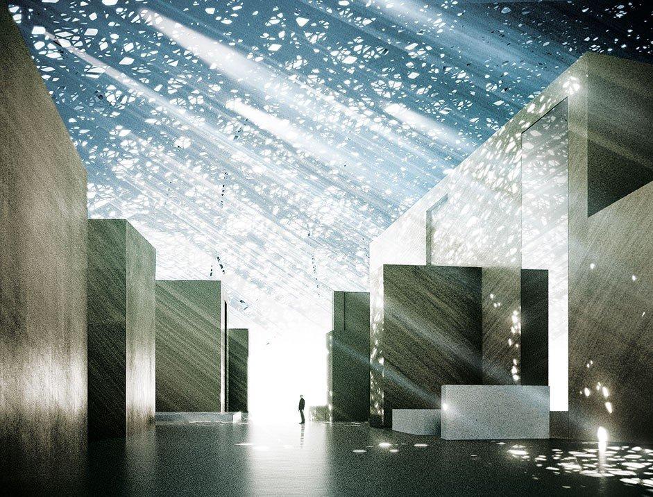 Trip Ideas light reflection Architecture Nature sunlight lighting symmetry