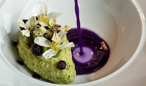 Food + Drink plate dish food plant meal produce breakfast cuisine dessert flower fruit flowering plant cream