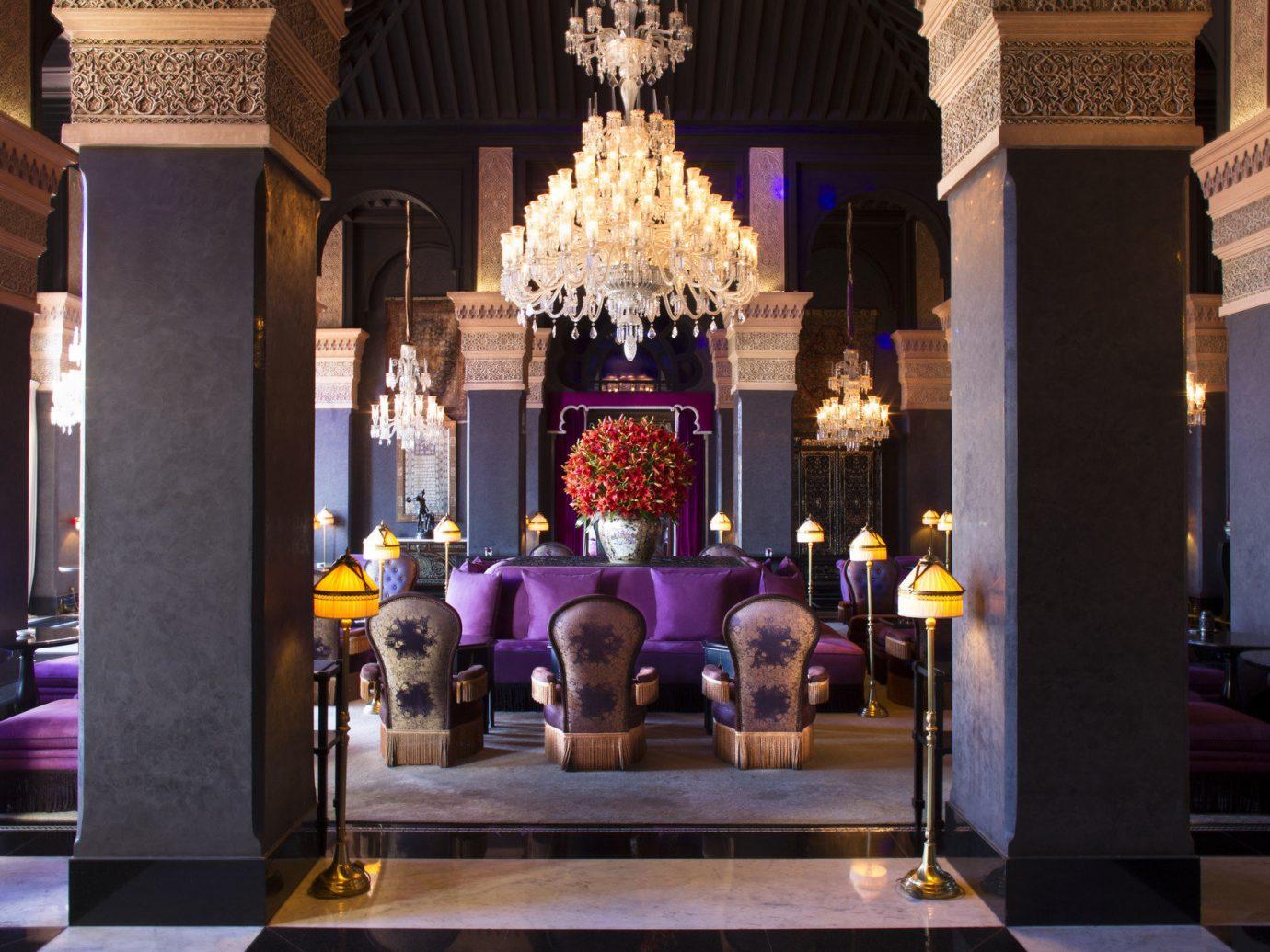 ambient lighting columns Elegant extravagant fancy Hotels interior living area living room Lounge regal sophisticated Style + Design lighting altar