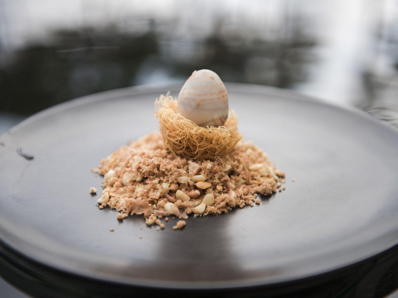 Hotels plate table dish white food meal coconut breakfast cuisine produce baking flavor dessert eaten