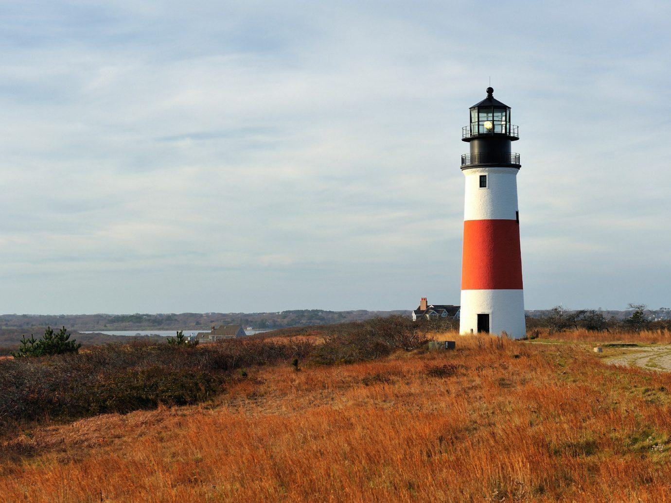 Lighthouse in Nantucket Massachusetts