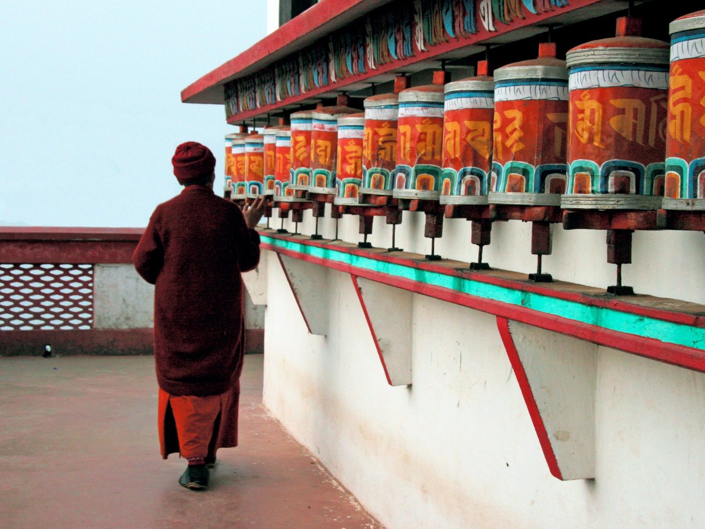 Food + Drink color red urban area temple travel