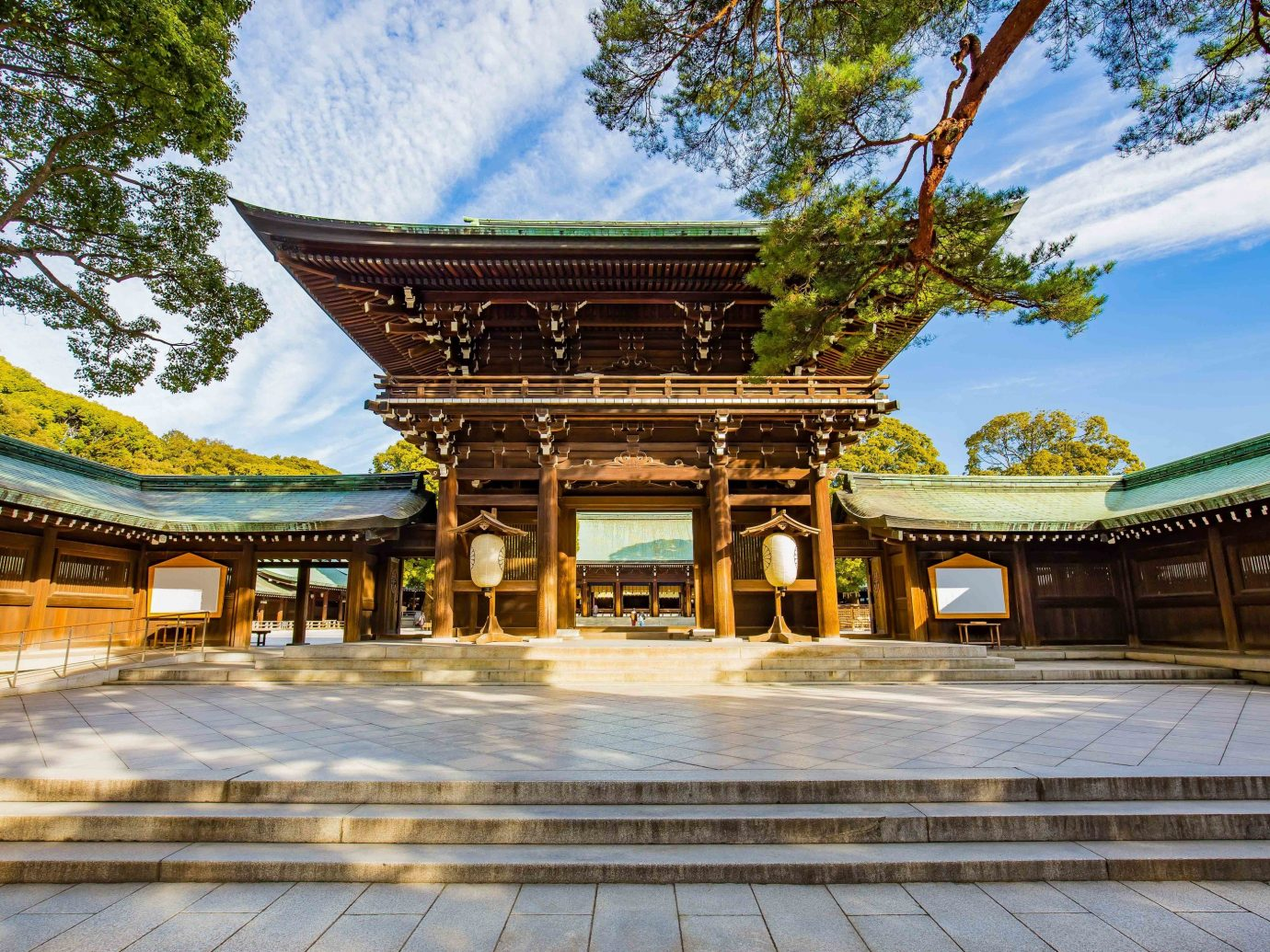 Trip Ideas outdoor tree sky building chinese architecture japanese architecture shinto shrine shrine historic site tourist attraction temple pagoda leisure place of worship estate