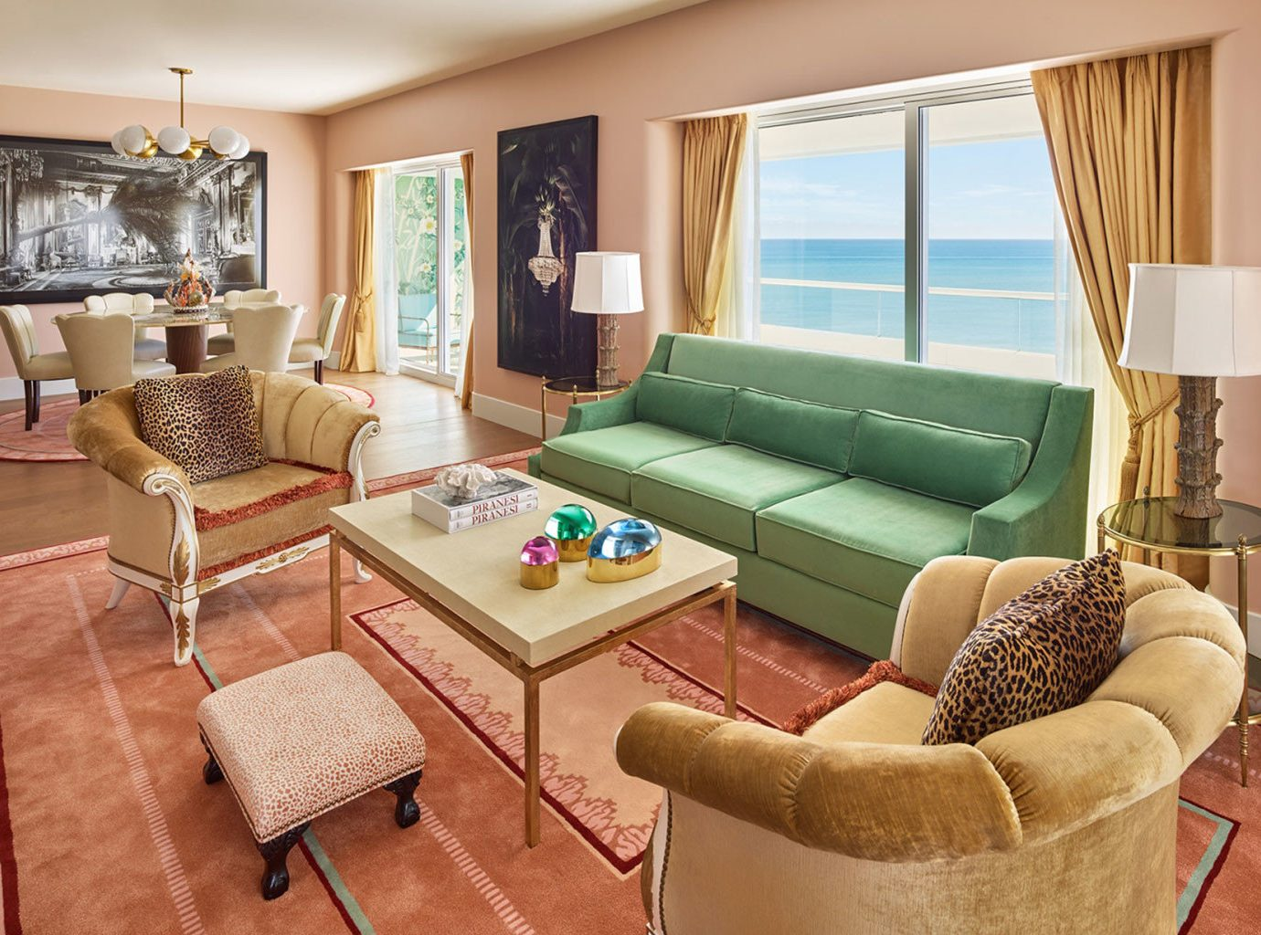 Living room at Faena Hotel Miami Beach