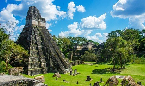 Trip Ideas tree outdoor grass sky historic site landmark archaeological site building tourism temple Ruins Nature maya civilization place of worship estate wat unesco world heritage site tours monument pasture stone lush day hillside