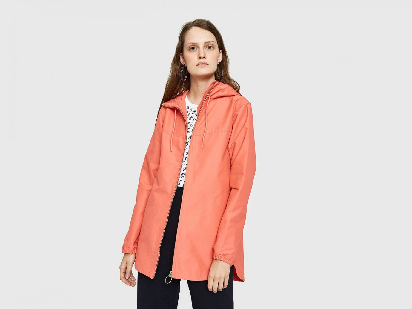 Packing Tips Spring Travel Style + Design Travel Shop clothing suit wearing posing jacket coat shoulder outerwear sleeve peach fashion model dressed neck hood
