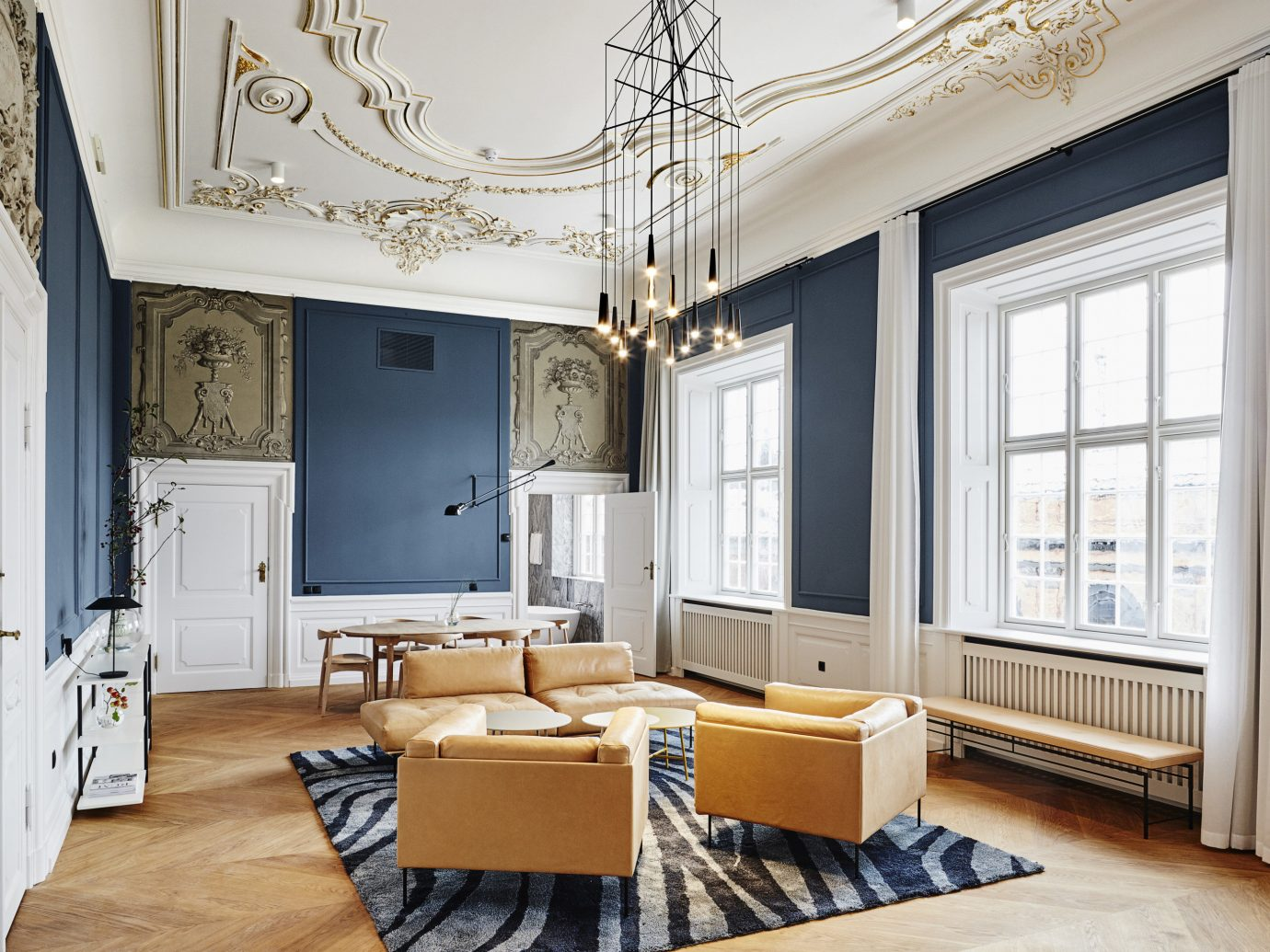 Beach Boutique Hotels Copenhagen Denmark Design Hotels Summer Travel Trip Ideas floor indoor window living room interior design room ceiling home furniture interior designer estate loft flooring table