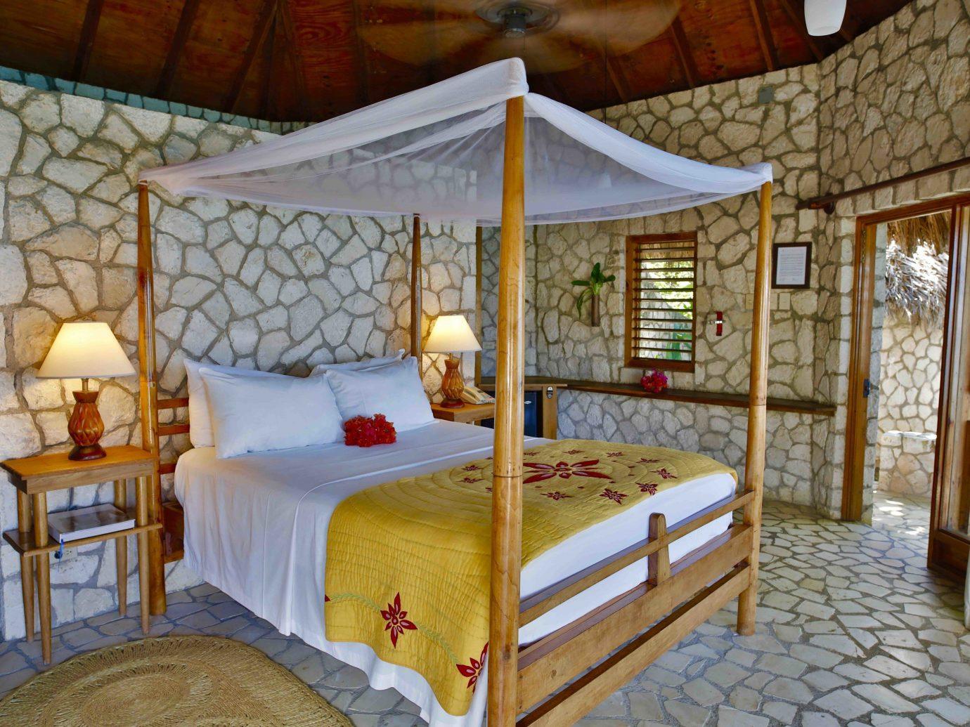 Bedroom at Rockhouse Hotel