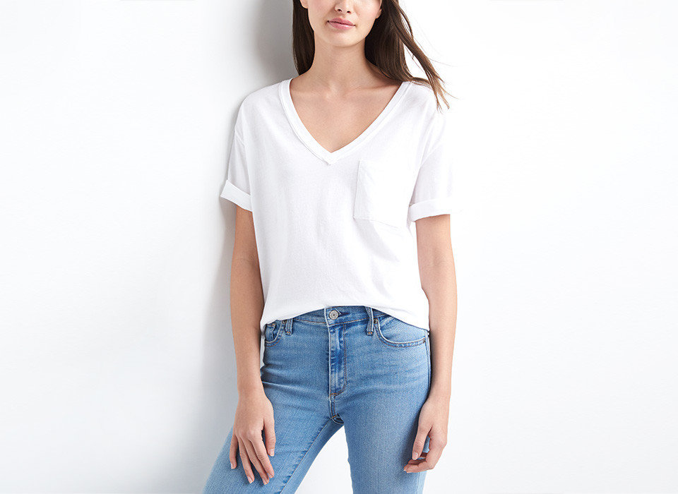 Travel Tips person clothing white sleeve neck standing shoulder fashion model waist t shirt posing joint pocket one piece garment jeans blouse trouser