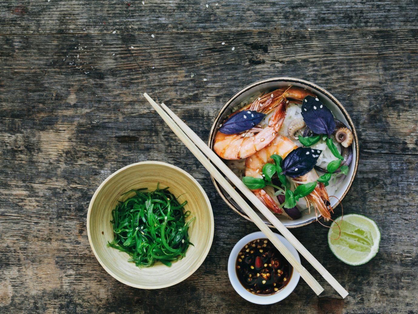 Jetsetter Guides dish green food leaf produce meal cuisine Seafood vegetable