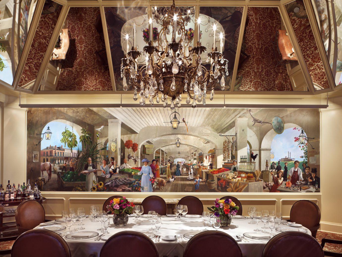 Food + Drink indoor room interior design function hall estate ballroom meal altar mansion palace dining room