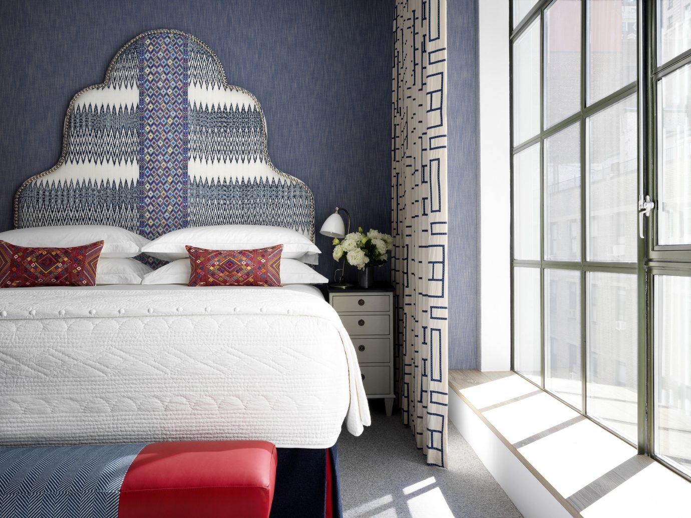 Hotels Travel Shop room interior design wall home furniture window bed frame bed Bedroom floor window covering pattern flooring interior designer