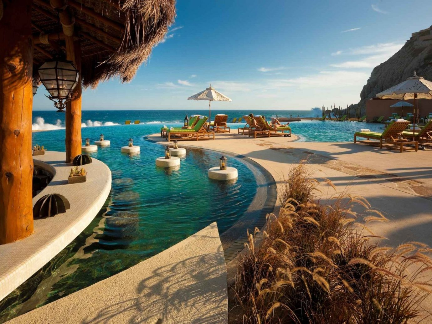 Infinity Pool At The Resort At Pedregal In Mexico
