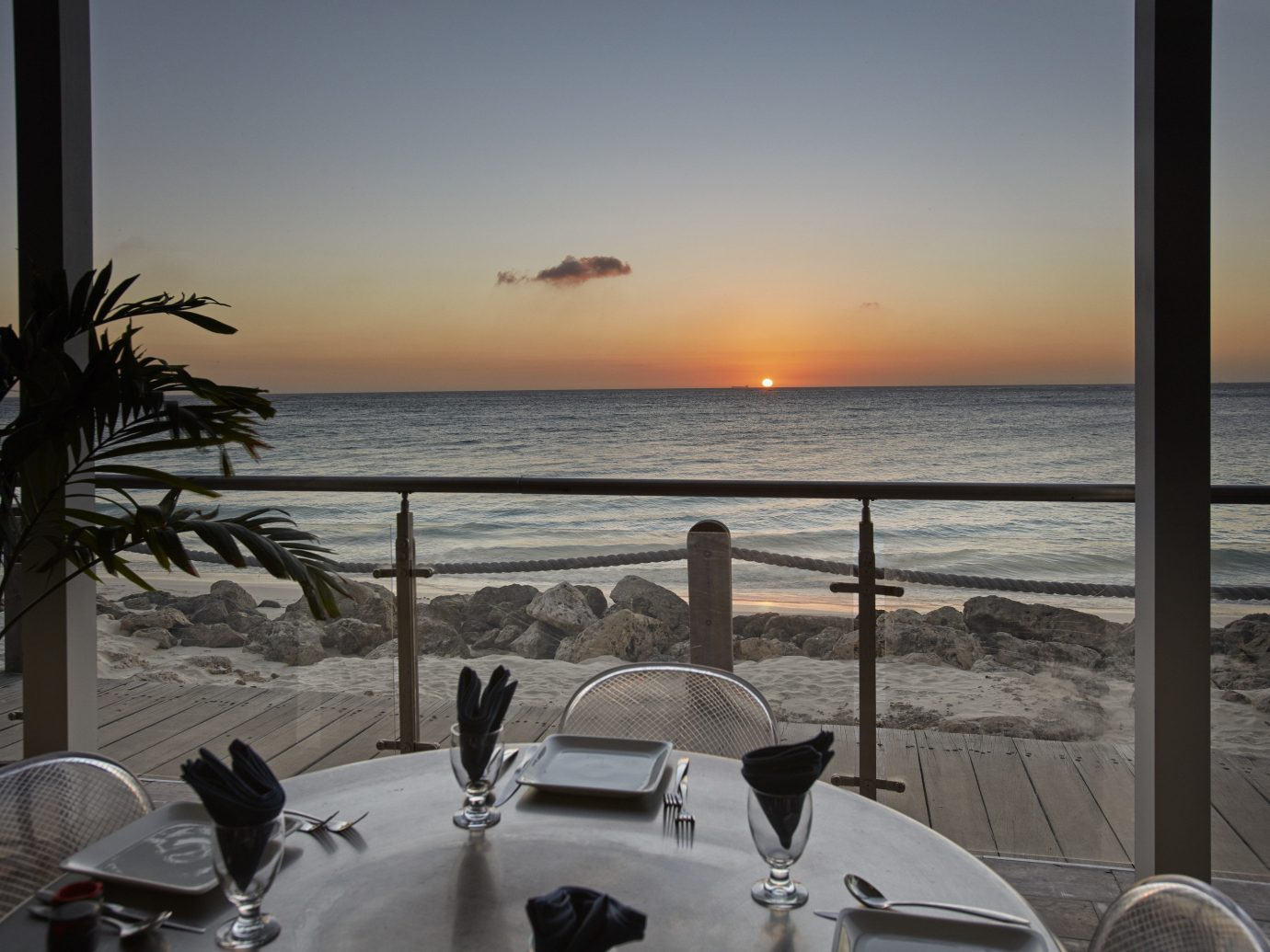 Hotels sky water outdoor Ocean Sea Beach shore vacation Coast morning Sunset evening overlooking