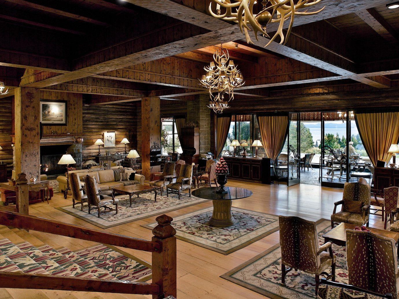 Secret Getaways Trip Ideas Winter ceiling indoor interior design Lobby living room furniture estate restaurant area several