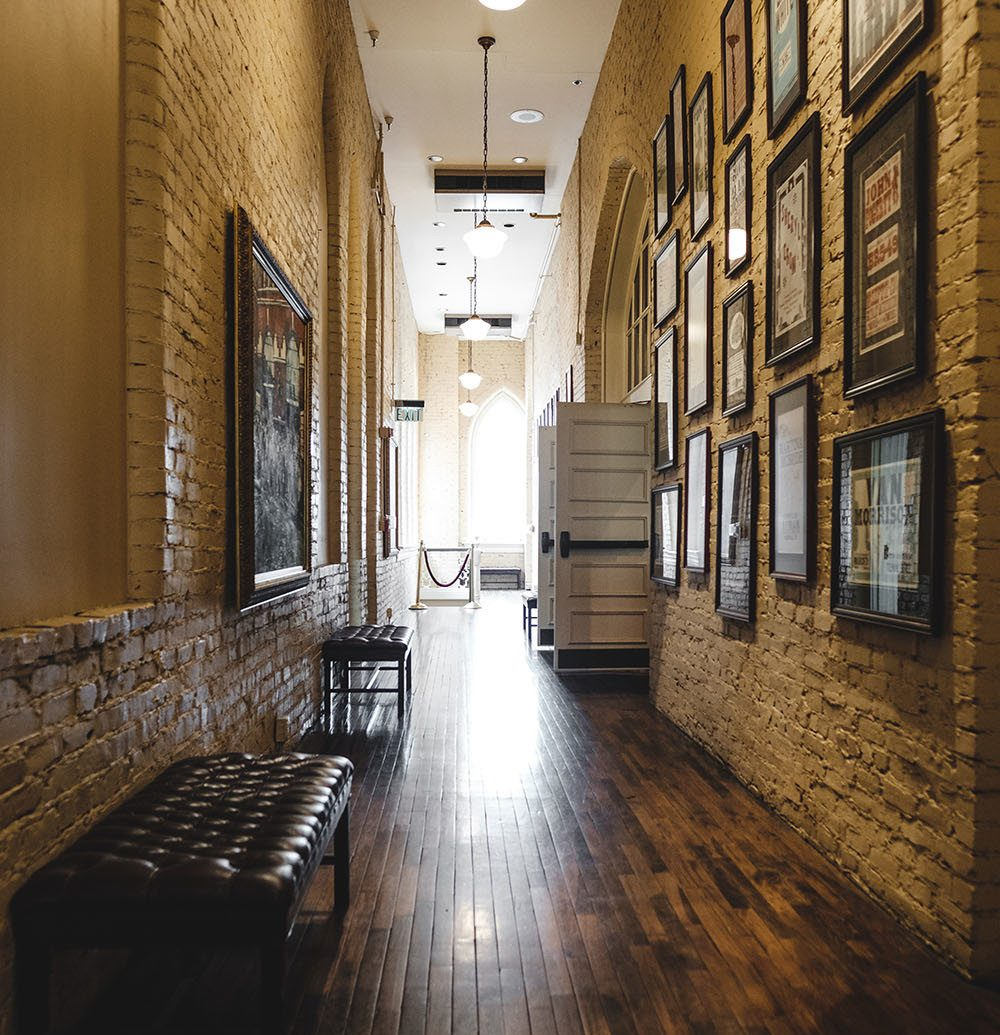 Trip Ideas wall indoor floor building flooring wood Architecture hall estate interior design lighting Lobby wood flooring stone