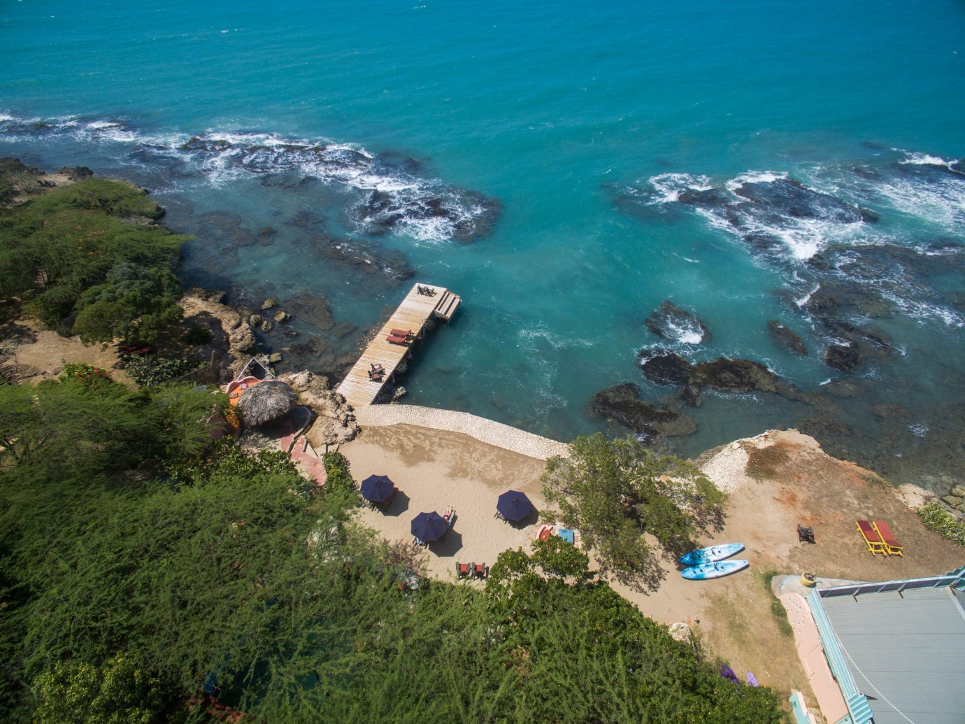 Hotels outdoor water aerial photography Coast Nature Sea cliff atmosphere of earth Ocean terrain cape bay cove reef