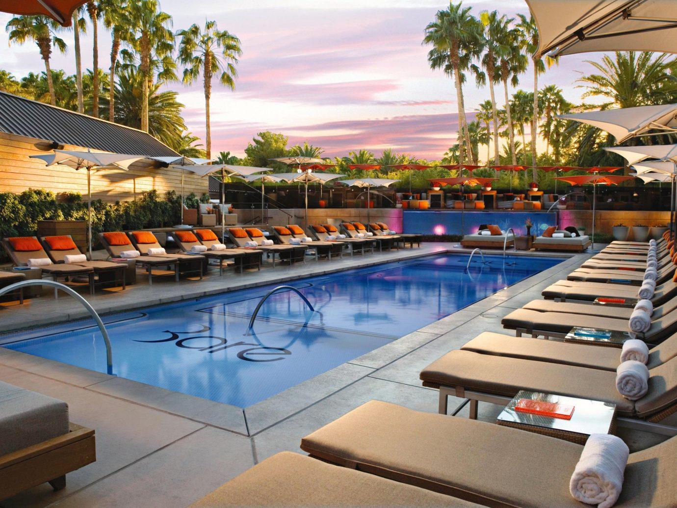 Hotels Living Lounge Luxury Modern Pool Trip Ideas swimming pool leisure outdoor Resort property estate vacation condominium Villa real estate furniture