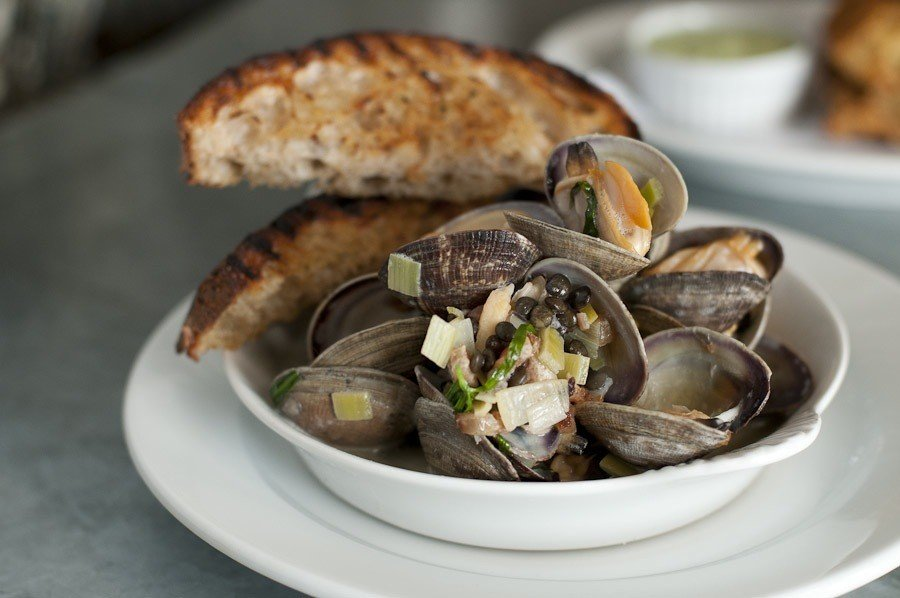 Food + Drink plate food clam dish Seafood clams oysters mussels and scallops mussel oyster animal source foods oysters rockefeller recipe sliced