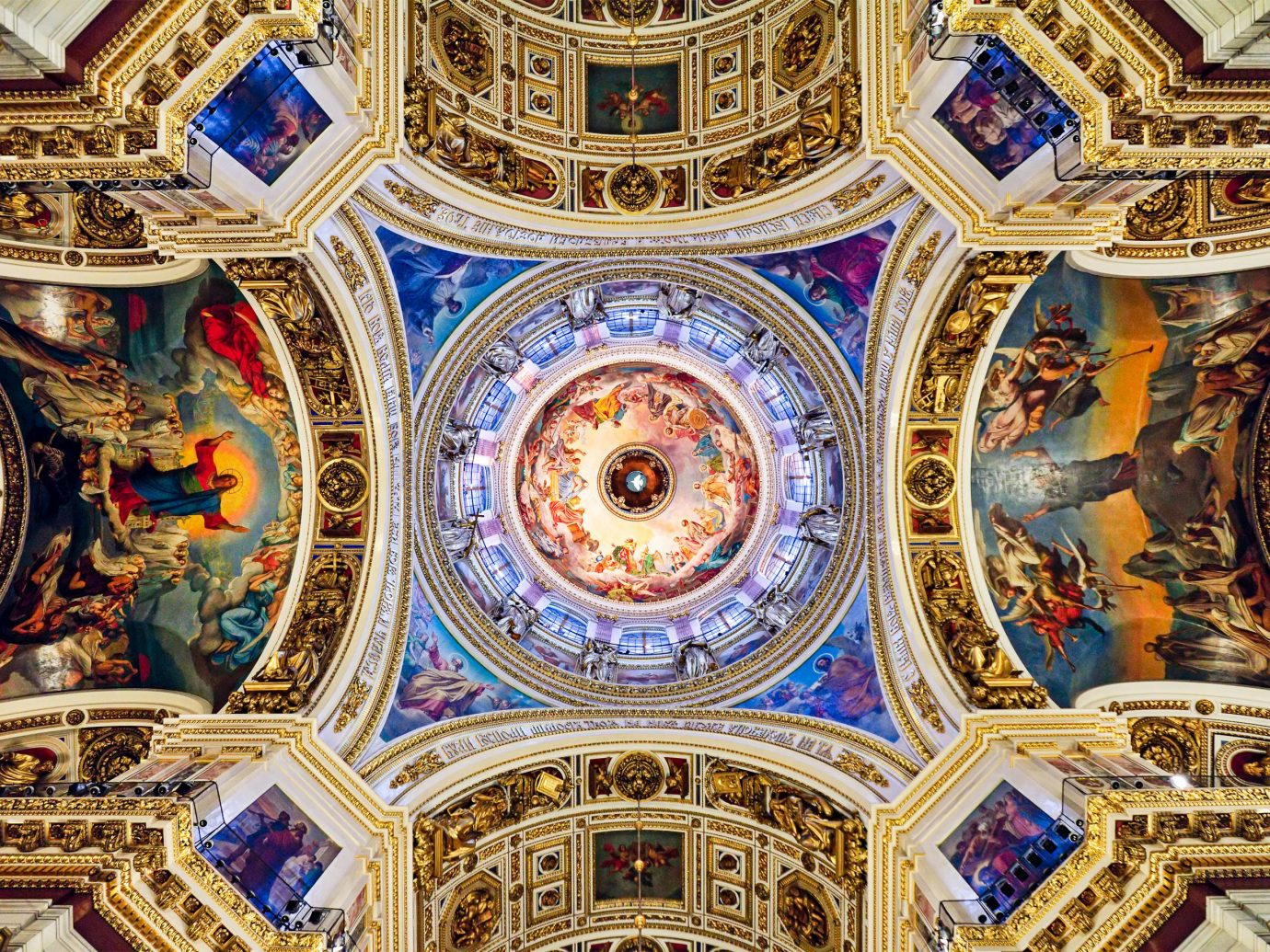 Travel Tips dome landmark building indoor cathedral basilica place of worship byzantine architecture symmetry chapel arch synagogue facade stock photography religion Church ceiling pattern decorated altar several