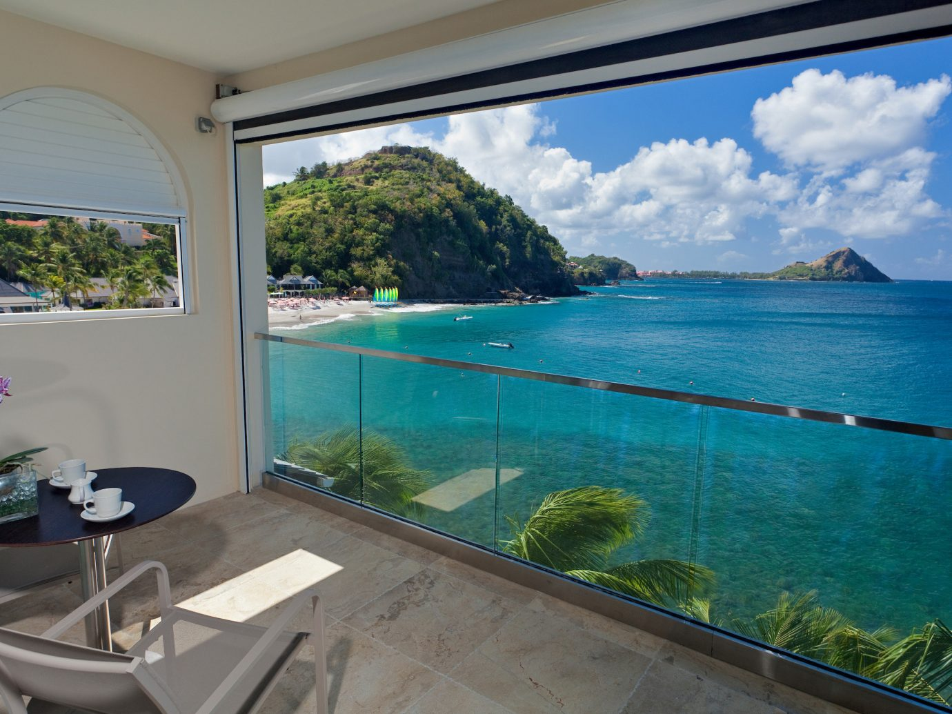 View of the ocean from BodyHoliday, St. Lucia