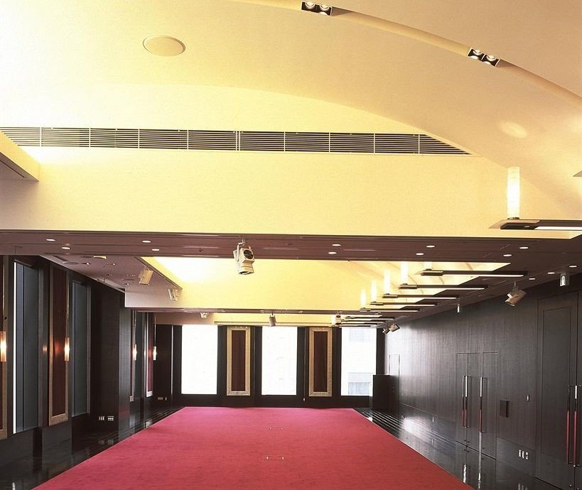 red auditorium Architecture sport venue lighting hall shape conference hall convention center