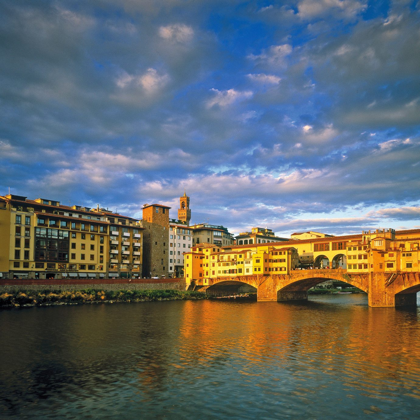 Architecture Buildings City Drink Eat Entertainment Landmarks Monuments Museums Nightlife River Scenic views Shop sky water yellow scene cityscape bridge evening dusk cloud morning Sunset Harbor channel waterway Sea skyline