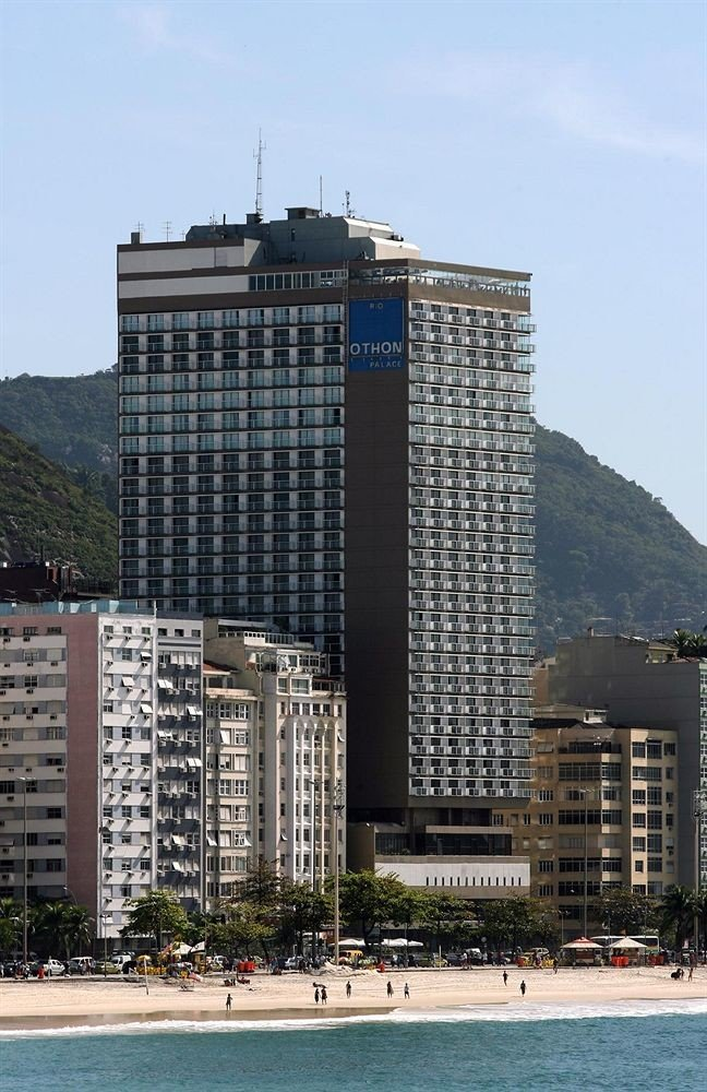 building sky tower block landmark skyscraper City Architecture Downtown tower skyline dock cityscape marina tall apartment building Island