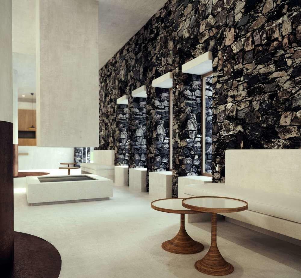 Architecture lighting modern art home living room tourist attraction flooring stone