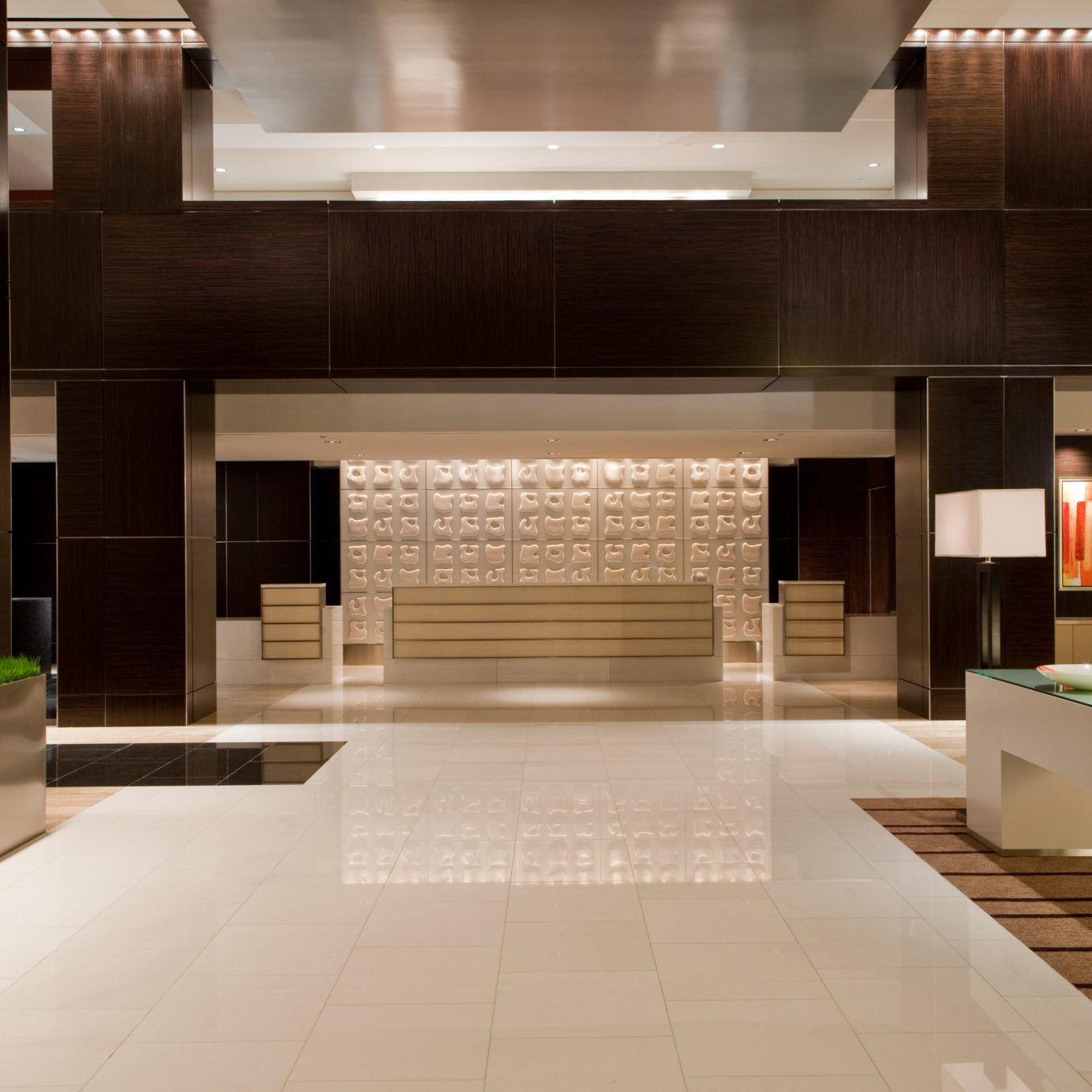 Lobby Architecture professional home flooring counter living room Modern Island
