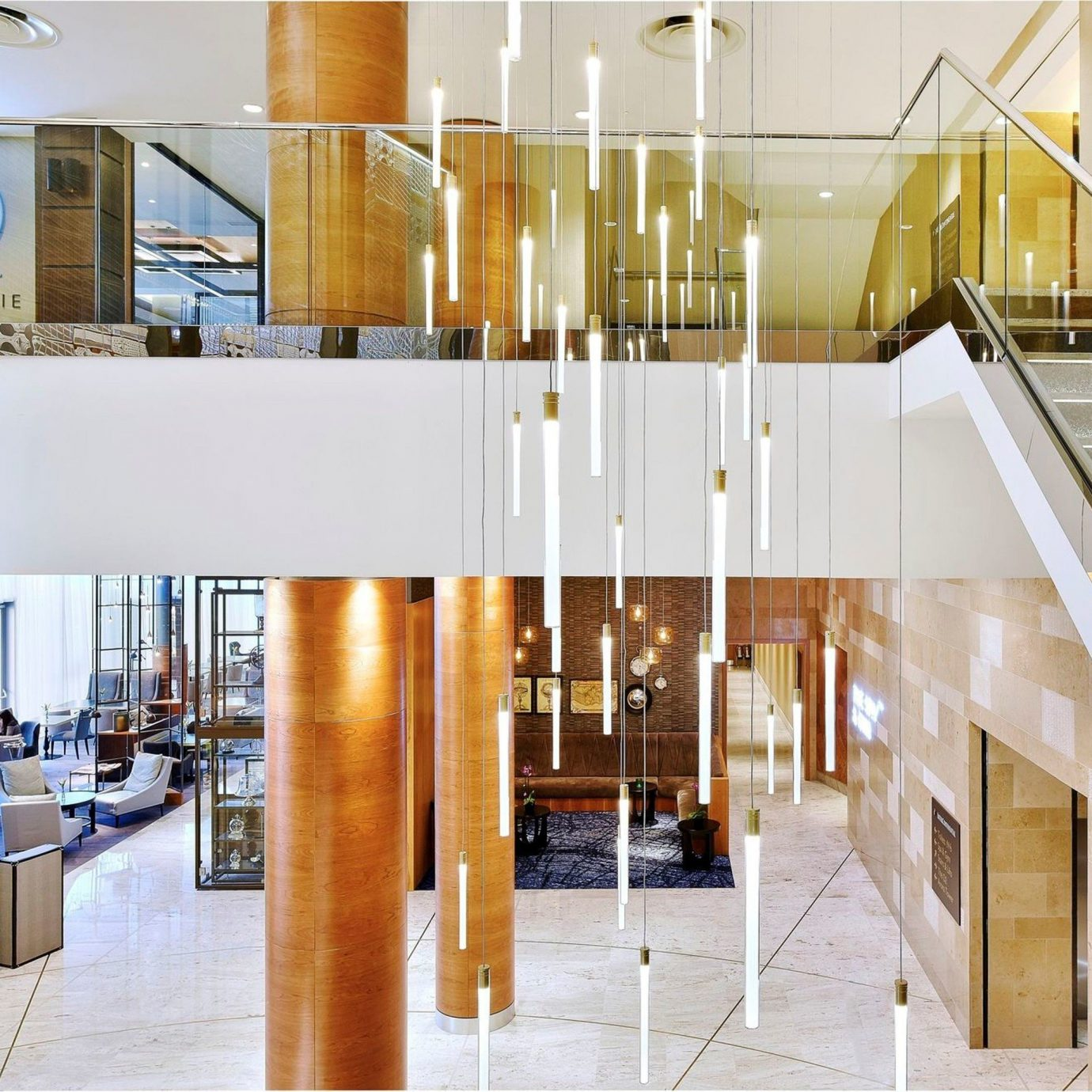 Architecture daylighting home Lobby headquarters
