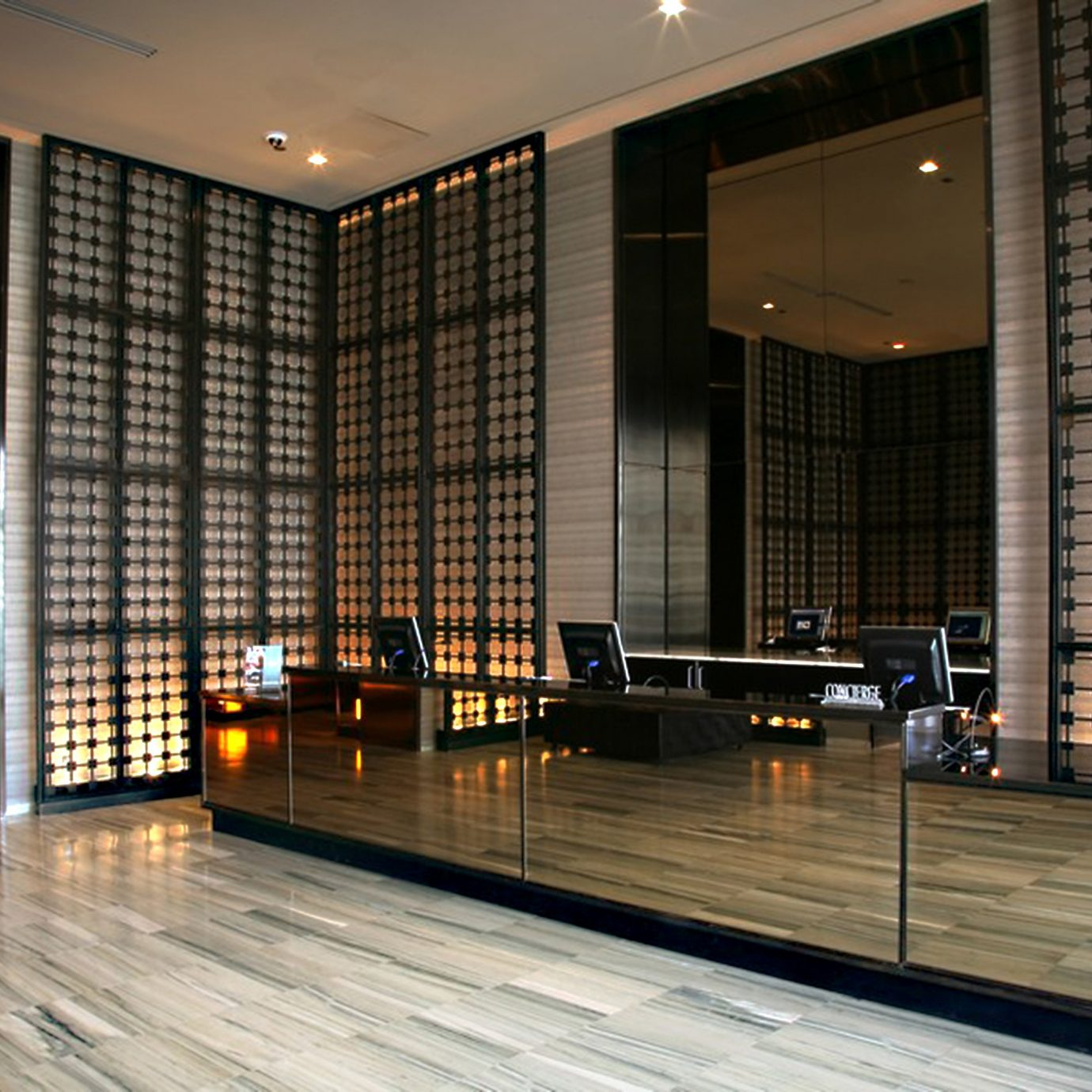 Lobby Modern Architecture lighting headquarters hall