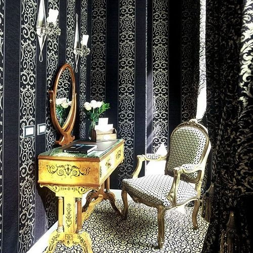 chair arranged