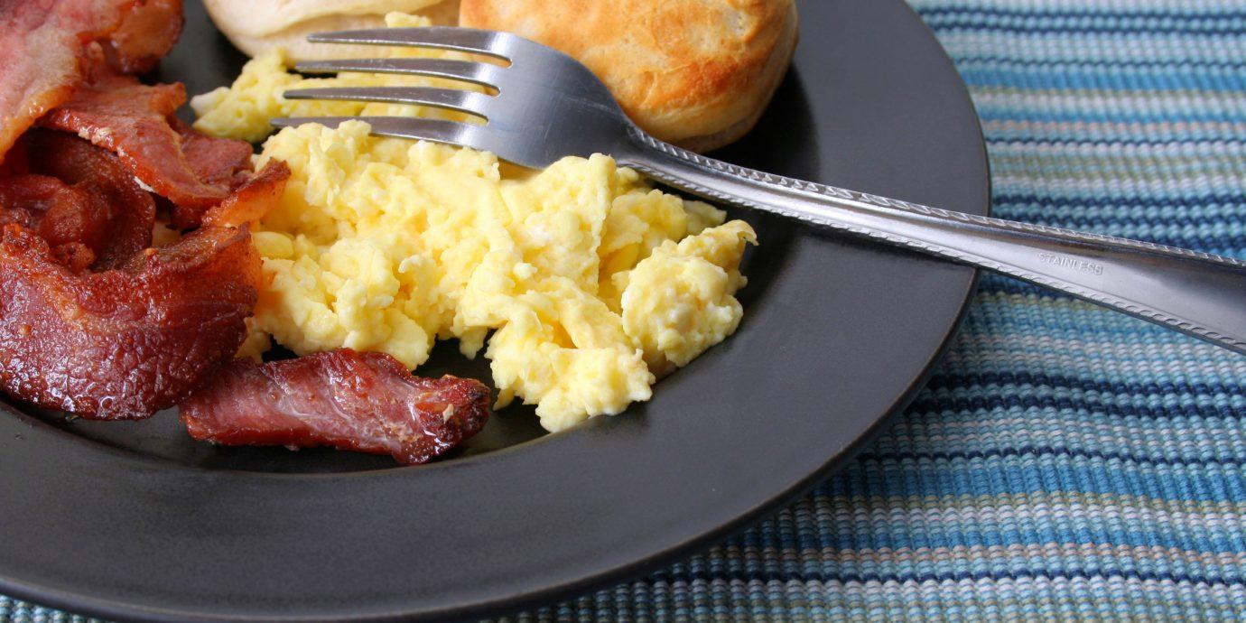 B&B Dining Elegant Historic Inn food plate breakfast meat scrambled eggs cuisine brunch vegetable