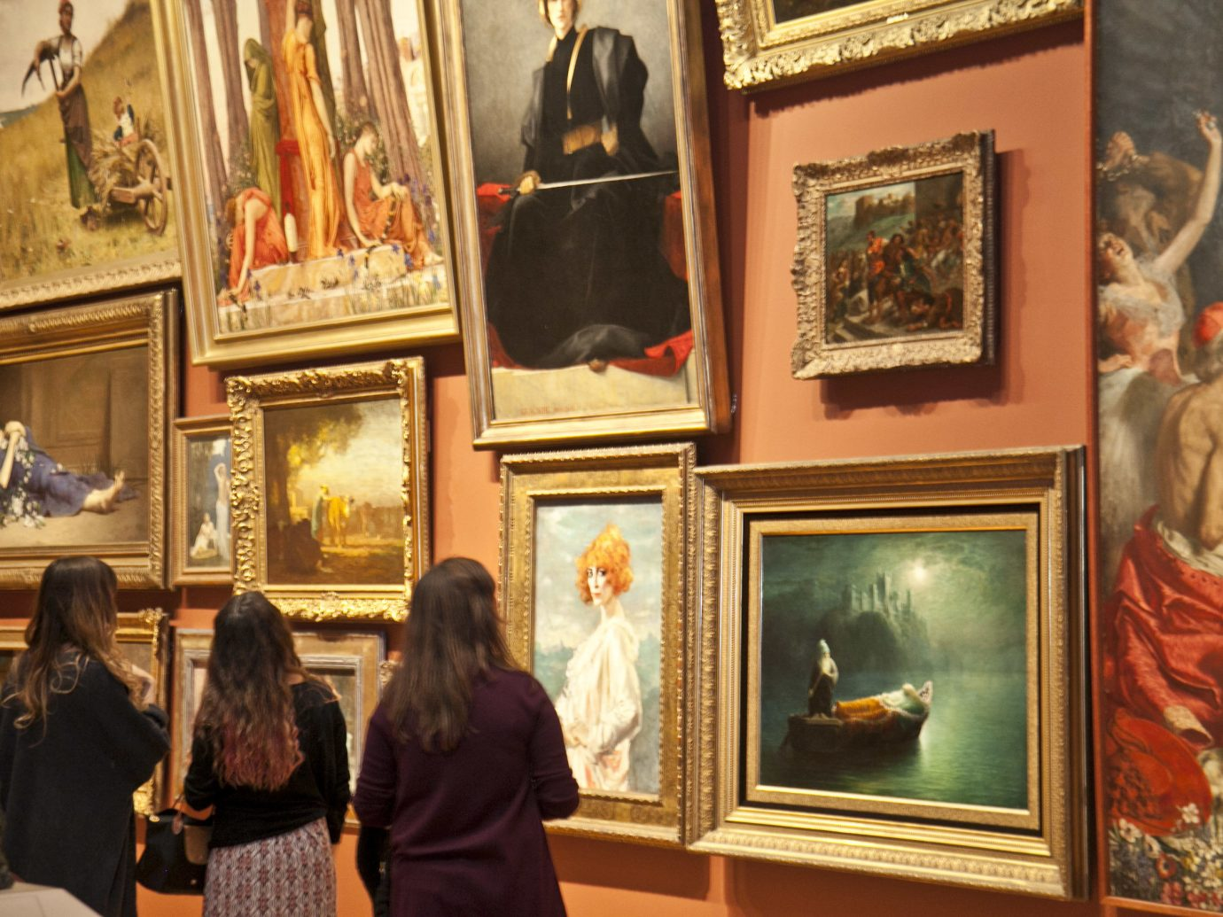 Trip Ideas person gallery scene room tourist attraction art museum art gallery posing ancient history art exhibition painting Family