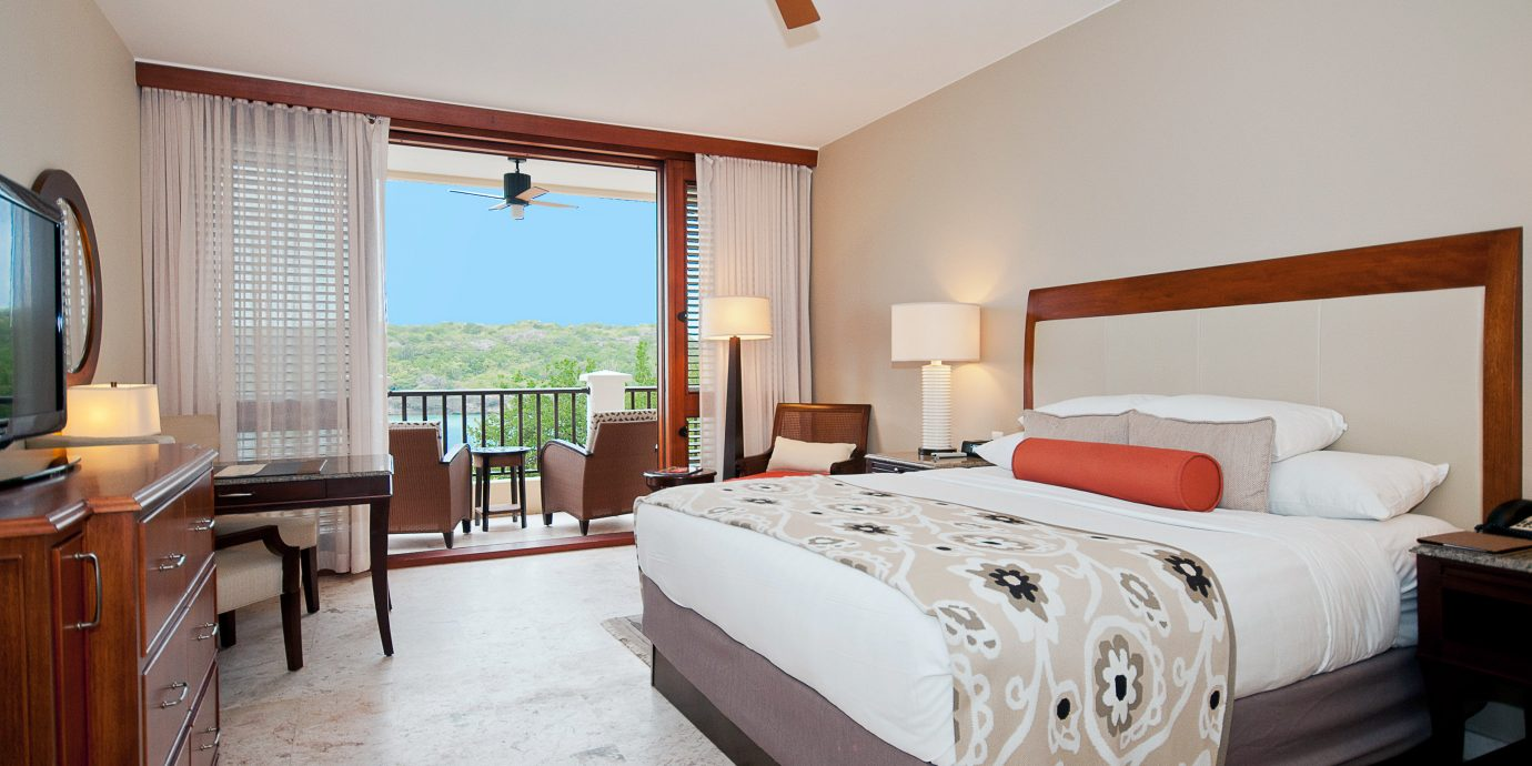 Balcony Bedroom Family Luxury Resort Scenic views Waterfront property Suite home cottage hardwood Villa farmhouse living room
