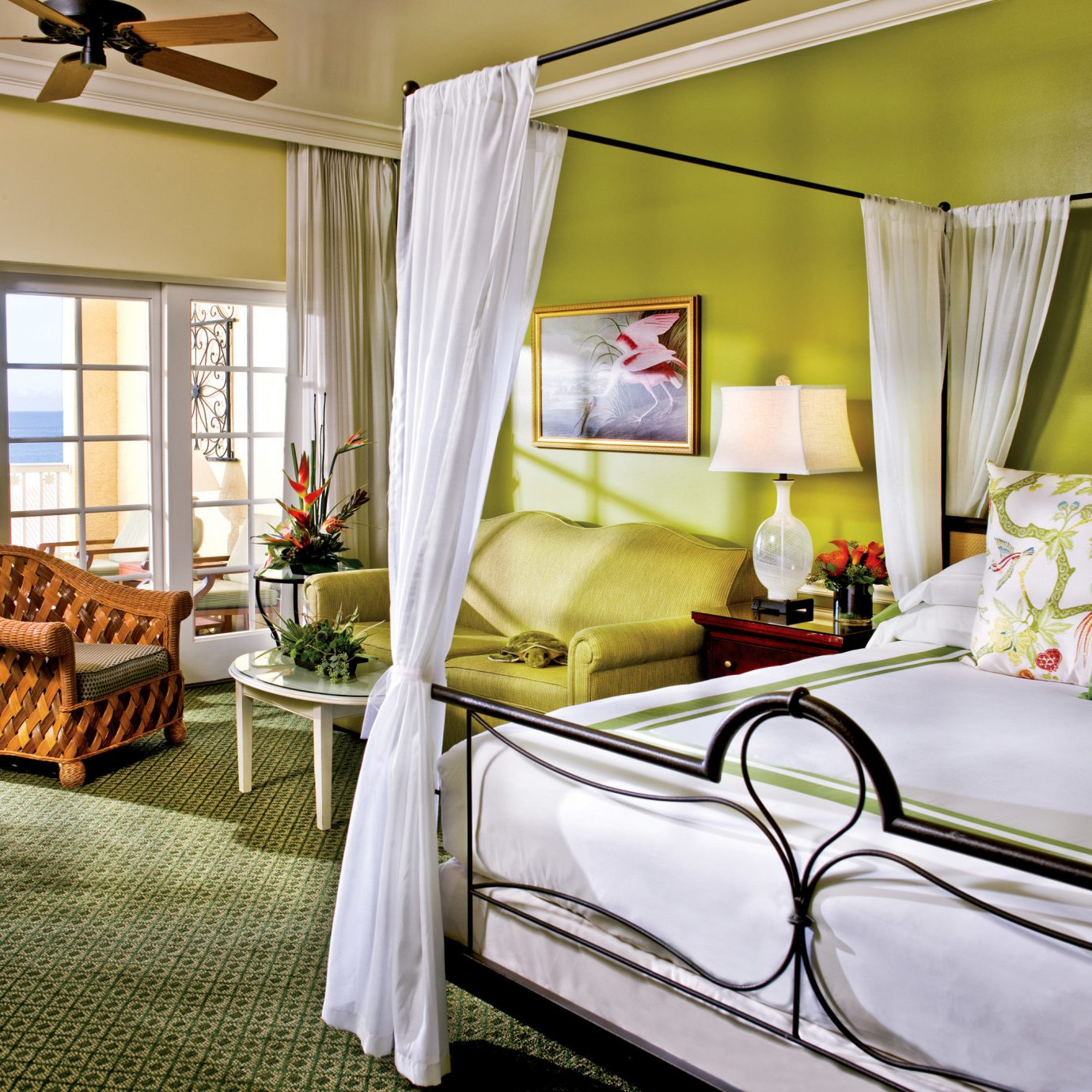 Balcony Bedroom Modern Patio Resort property home cottage living room bed sheet Suite farmhouse