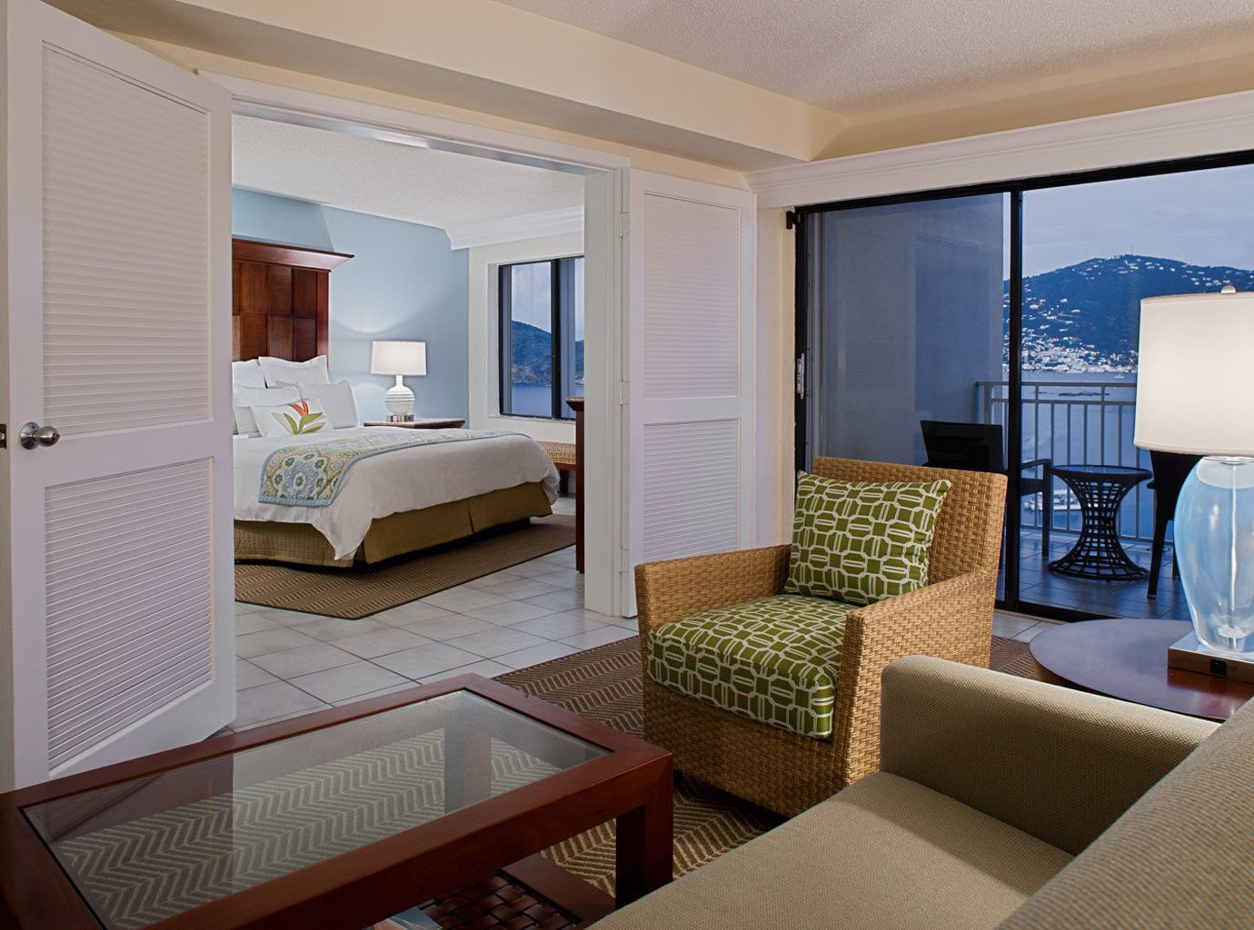 Balcony Bedroom Resort Suite property condominium living room home cottage