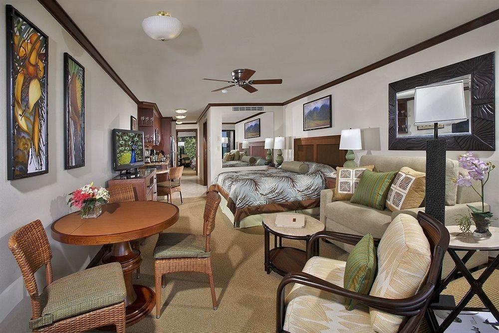 Balcony Bedroom Scenic views Suite Tropical property living room home cottage Villa farmhouse condominium